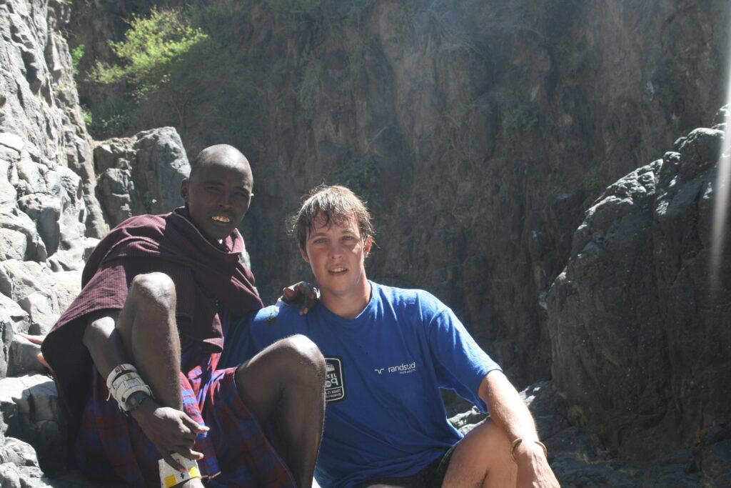 Steven in Tanzania