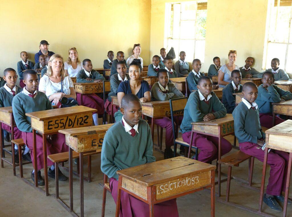 school in Endallah, Tanzania
